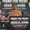 Sergey Kovalev: Esta pelea con Andre Ward es la pelea más importante de mi carrera