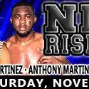 Warriors Boxing Presents 'Night of the Rising Stars' on Saturday, November 5, at Club Cinema in Pompano Beach, Florida