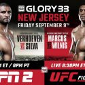 Glory 33 New Jersey & Glory 33 Superfight Series Weigh-In Results