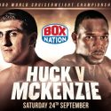 Illness scuppers Ovill Mckenzie title challenge