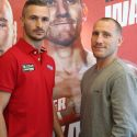 Ceylan and Walsh come face-to-face ahead of european title clash