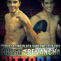 Guido Pitto vs. Puro Paz II este sábado en FAB por latino plata superwélter CMB. TyC Sports 23 h