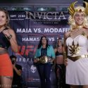 INVICTA FC 19: Jennifer Maia (124.7 lb) vs. Roxanne Modafferi (124.8 lb)