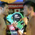 Pesaje Oficial: Jhonny González 59 kg. vs. Hirotsugu Yamamoto 59 Kg.