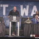 Video: UFC 205 NEW YORK PRESS: MCGREGOR VS ALVAREZ (WAR OF WORDS)