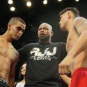 Official Weigh-in: Hanzel Martinez 122 lbs. vs. Erik Ruiz 121 lbs