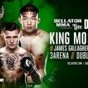 James Gallagher's Opponent for 'Bellator 169: King Mo vs. Ishii' is Official