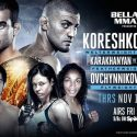 Two Fresh Bouts Added to Bellator's Historic Event in Tel Aviv, Israel Nov. 10