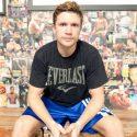 Taras Shelestyuk Sparring With Shane Mosley For Friday's ShoBox Fight