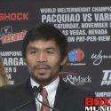 Próximo rival de Manny Pacquiao