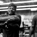 "Marshawn ""Beast Mode"" Lynch Visits Andre Ward's Training Camp"
