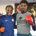 Maurice Hooker and Two-Time Olympic Gold Medalist Claressa Shields Media Workout