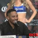 Video: Andre Ward on Conor Mcgregor calling out Floyd Mayweather: It's not a good idea at all