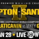 Featherweight World Champion Lee Selby Defends Title Saturday, January 28 Against Jonathan Victor Barros Live on SHOWTIME EXTREME