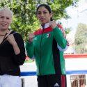"""""""Chololita"""" Larios  y """"Cholita"""" Franco ofrecen entrenamiento público y se declaran listas"""