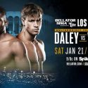 PAIR OF WELTERWEIGHT FINISHERS SET FOR ACTION AT 'BELLATOR 170: ORTIZ VS. SONNEN' ON JAN. 21, WHEN PAUL DALEY MEETS BRENNAN WARD AT THE FORUM IN LOS ANGELES