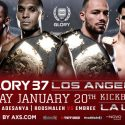 GLORY 37 Los Angeles and GLORY 37 SuperFight Series Match-ups and Bout Order Finalized