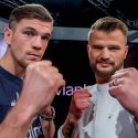 Skoglund and Shala come face-to-face ahead of WBA title clash