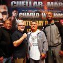 Jesus Cuellar vs. Abner Mares & Jermall Charlo vs. Julian Williams Trainer Media Roundtables Quotes & Photos