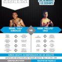 """Israel """"Jiga"""" González y Eddy """"Pollito"""" Cruz, en peso y listos para ofrecer un espectacular combate de fin de temporada 2016"""