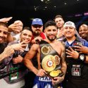 Abner Mares narrowly outpoints Jesus Cuellar to win featherweight championship