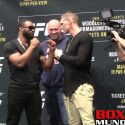 Video: UFC 209 Fighter Face Off: Woodley vs. Thompson/ Nurmagomedov vs. Ferguson