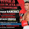 Chúcaro Sánchez vs. Gustavo Urquía, próximo sábado en Madryn por latino plata supermediano CMB. TyC Sports 23 h