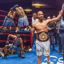 Brant Stops Hloros with Body Shot and Defends WBA-NABA Championship in Hinckley
