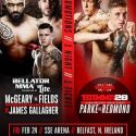 SBG Stars James Gallagher and Sinead Kavanagh Added to Bellator 173 in Belfast on Feb. 24