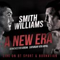 Smith – Williams now for the WBO interim super-welterweight championship of the world