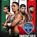 Combate Americas Announces Four Bouts For Burbank, California on Feb. 16