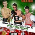 México / Boxeadores canadienses en Ocotlán, Jalisco