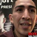 Video: Leo Santa Cruz: Pienso que Canelo se va llevar esa pelea porque él es más disciplinado