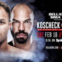 Josh Koscheck Set For Bellator MMA Debut on Feb. 18 at Bellator 172