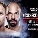 Josh Koscheck Set For Bellator MMA Debut on Feb. 18 at Bellator 172