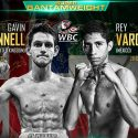 Rey Vargas battles Gavin McDonnell this Saturday afternoon for WBC Super Bantamweight title