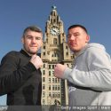 Smith and Williams face-off at the iconic Royal Liver building