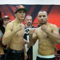 Pesaje Oficial: Pedro Campa 141 lbs vs. Marvin Quintero 141 lbs