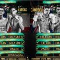 Dando seguimiento: McDonnell vs. Vargas – Campbell vs. López