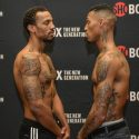 Official Weigh-in: Chris Pearson 152.8 vs Justin DeLoach 151.8