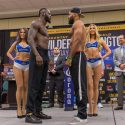 Pesaje Oficial: Deontay Wilder 222 vs. Gerald Washington 239