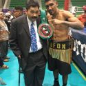 "Salvador ""Bufón"" Briceño vuelve a Monterrey para exponer el campeonato superpluma Fecombox"