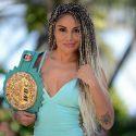 Firme la 'Barby' Juárez en conquistar un tercer título mundial