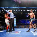 Mario Barrios Remains Undefeated with Sixth Round TKO