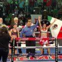 Azteca Alondra García gana campeonato mundial minimosca femenino (F.I.B.)