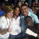 Colombia celebra la victoria sobre Cuba en la 'Serie Mundial de Boxeo'