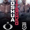 Klitschko vs. Joshua por Televisa