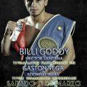 Billi Godoy vs. Santana por latino CMB y Vega vs Reges por sudamericano este sábado en Chichinales