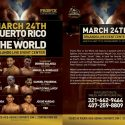 Puerto Rico vs. 'The World' el 24 de marzo en el 'Orlando Live Events'