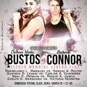 Victoria Bustos defiende mundial ligero FIB ante Connor